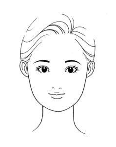 顔タイプキュート