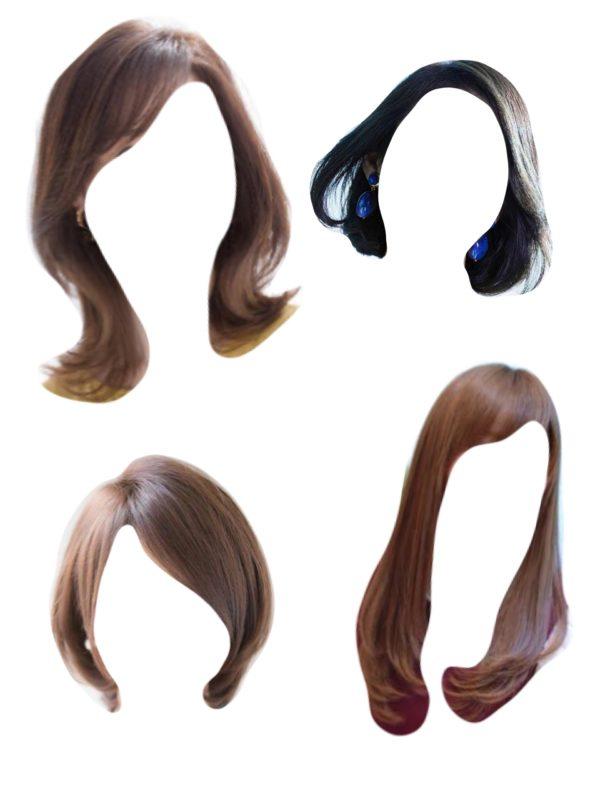 ソフトエレガント髪型