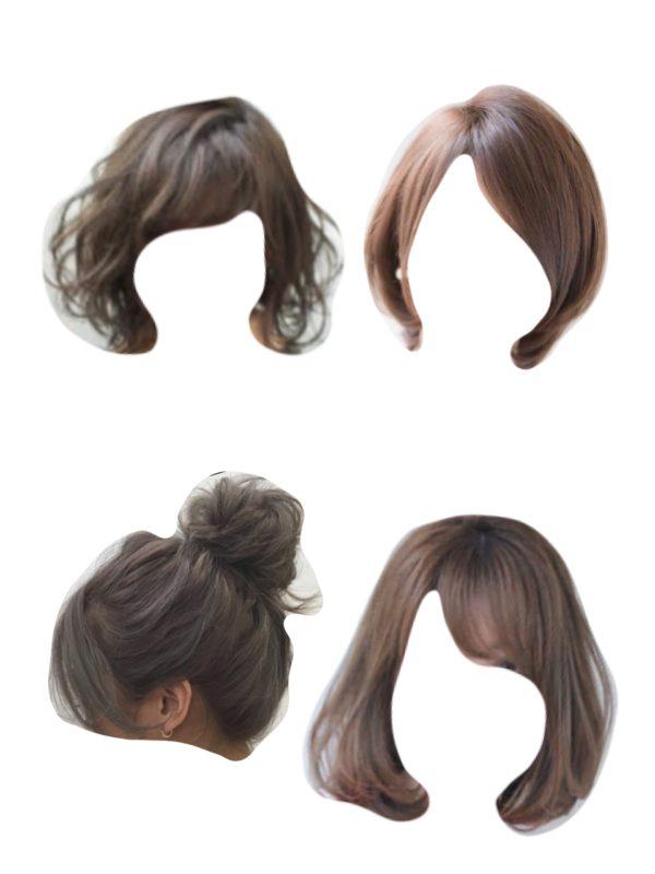 顔タイプキュート髪型
